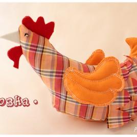 Платнена кокошка