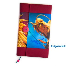 book sleeve with an dragon image